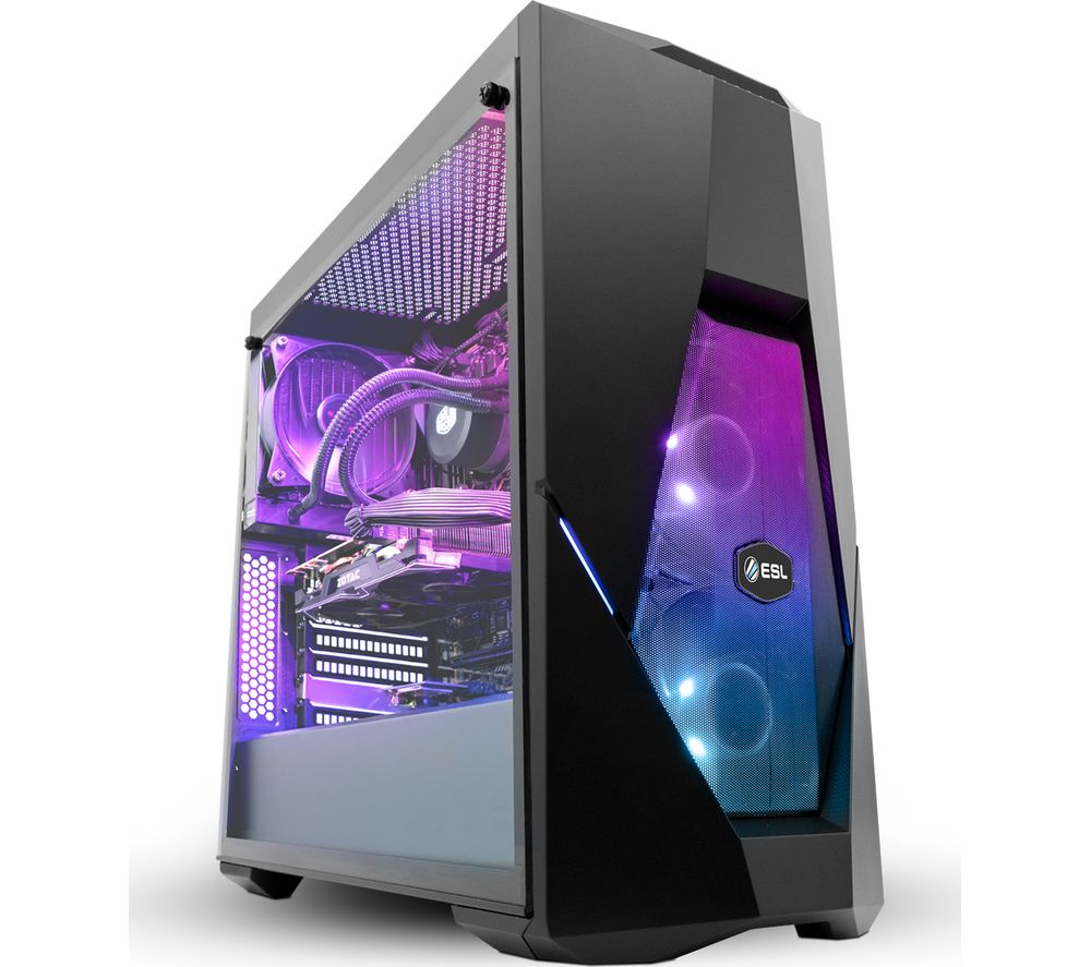PC SPECIALIST ESL Certified Intel® Core™ i7 GTX 1070 Gaming PC - 2 TB HDD & 256 GB SSD