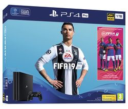 SONY PlayStation 4 Pro with FIFA 19 - 1 TB