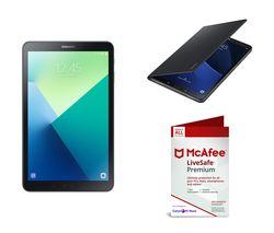 """SAMSUNG Galaxy Tab A 10.1"""" Tablet & 128 GB SD Card Bundle - Grey"""