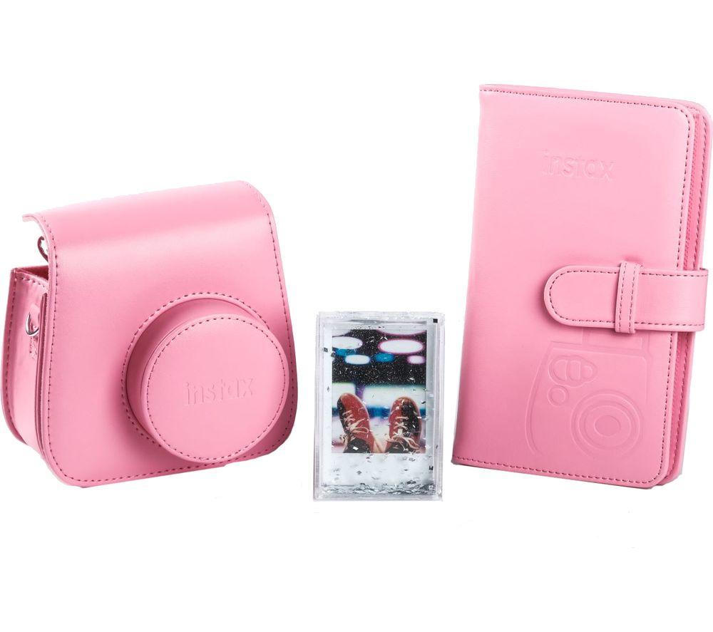 INSTAX mini 9 Accessory Kit - Flamingo Pink