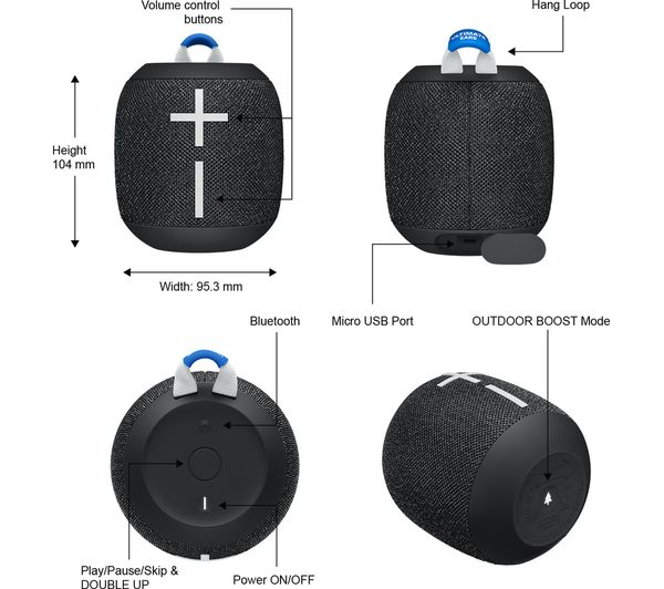 bluetooth speaker wonderboom