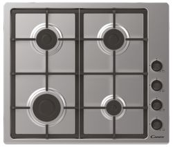 CANDY CHG6LCX Gas Hob - Stainless Steel