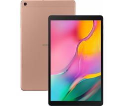 "SAMSUNG Galaxy Tab A 10.1"" Tablet (2019) - 32 GB, Gold"