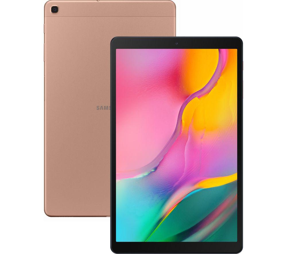 """SAMSUNG Galaxy Tab A 10.1"""" Tablet (2019) - 32 GB, Gold"""
