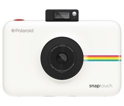 Snap Touch Digital Instant Camera - White