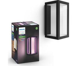 Hue Impress Outdoor Wall Lantern - Wide
