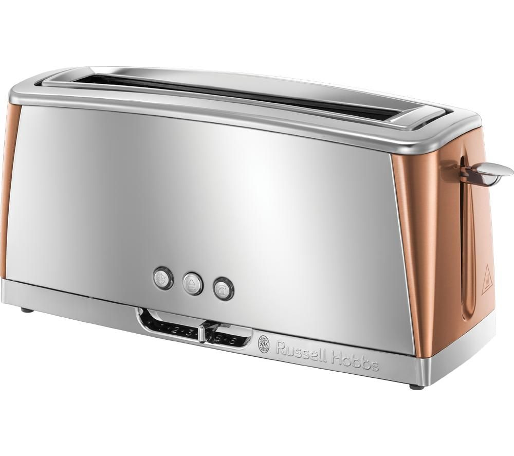 RUSSELL HOBBS Luna 24310 2-Slice Toaster - Copper