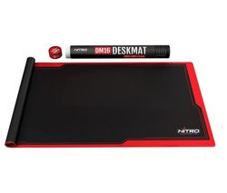 NITRO CONCEPTS DM16 Deskmat Gaming Surface, 1600 x 800 mm - Red