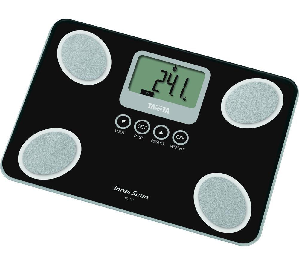 TANITA InnerScan BC-731BK Digital Bathroom Scales