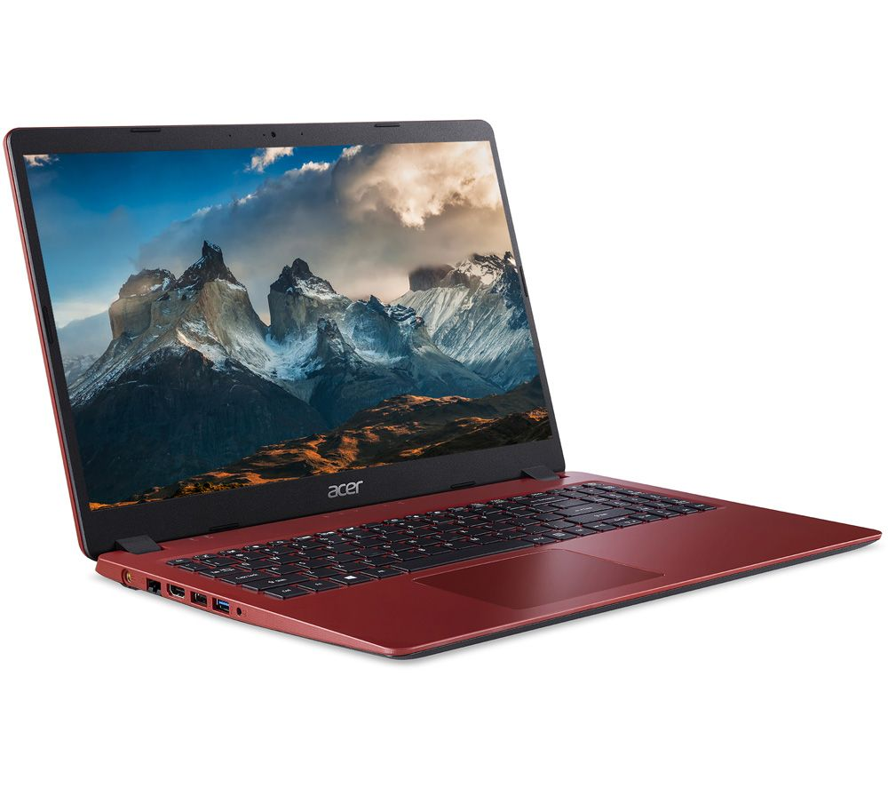 """Image of ACER Aspire 3 15.6"""" Laptop - Intel®Core™ i5, 256 GB SSD, Red, Red"""