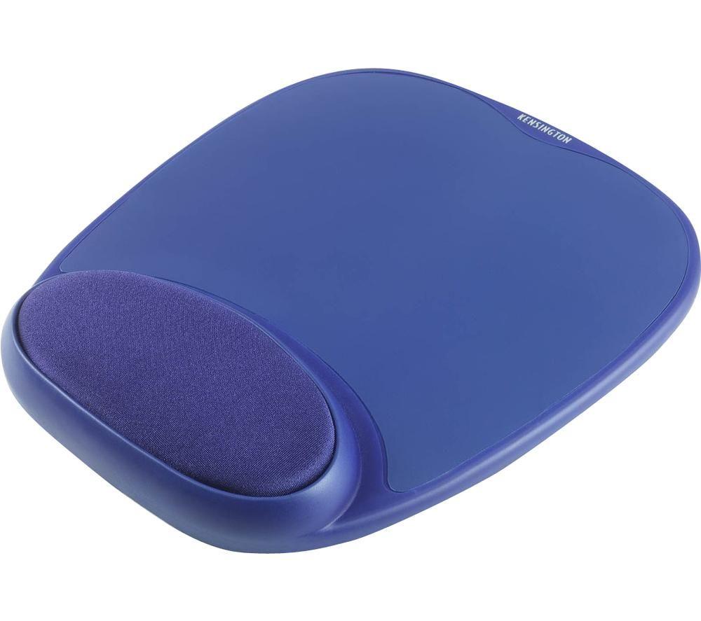 Image of KENSINGTON Wrist Pillow Mouse Mat - Blue, Blue