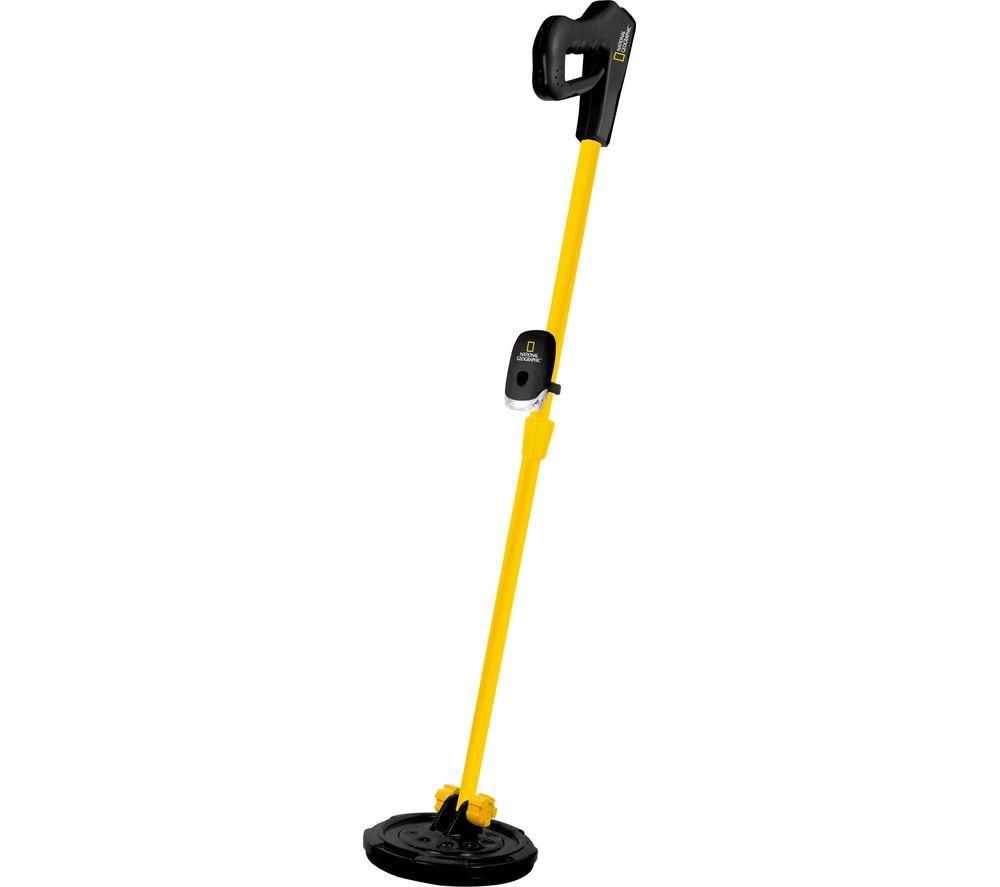 NAT. GEOGRAPHIC NG-9110500 Kids Metal Detector - Yellow