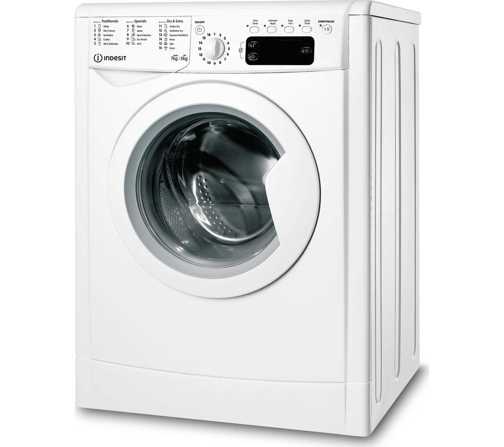 INDESIT Ecotime IWDD 75145 UK N Washer Dryer - White