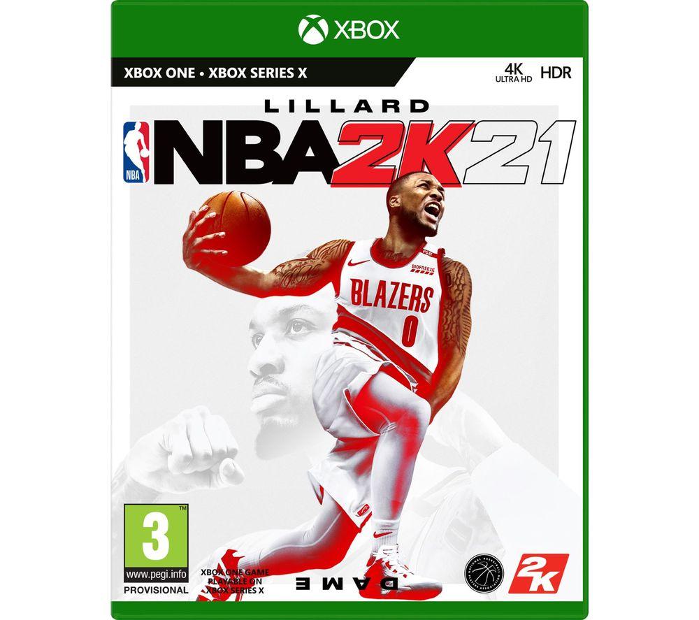 XBOX NBA 2K21