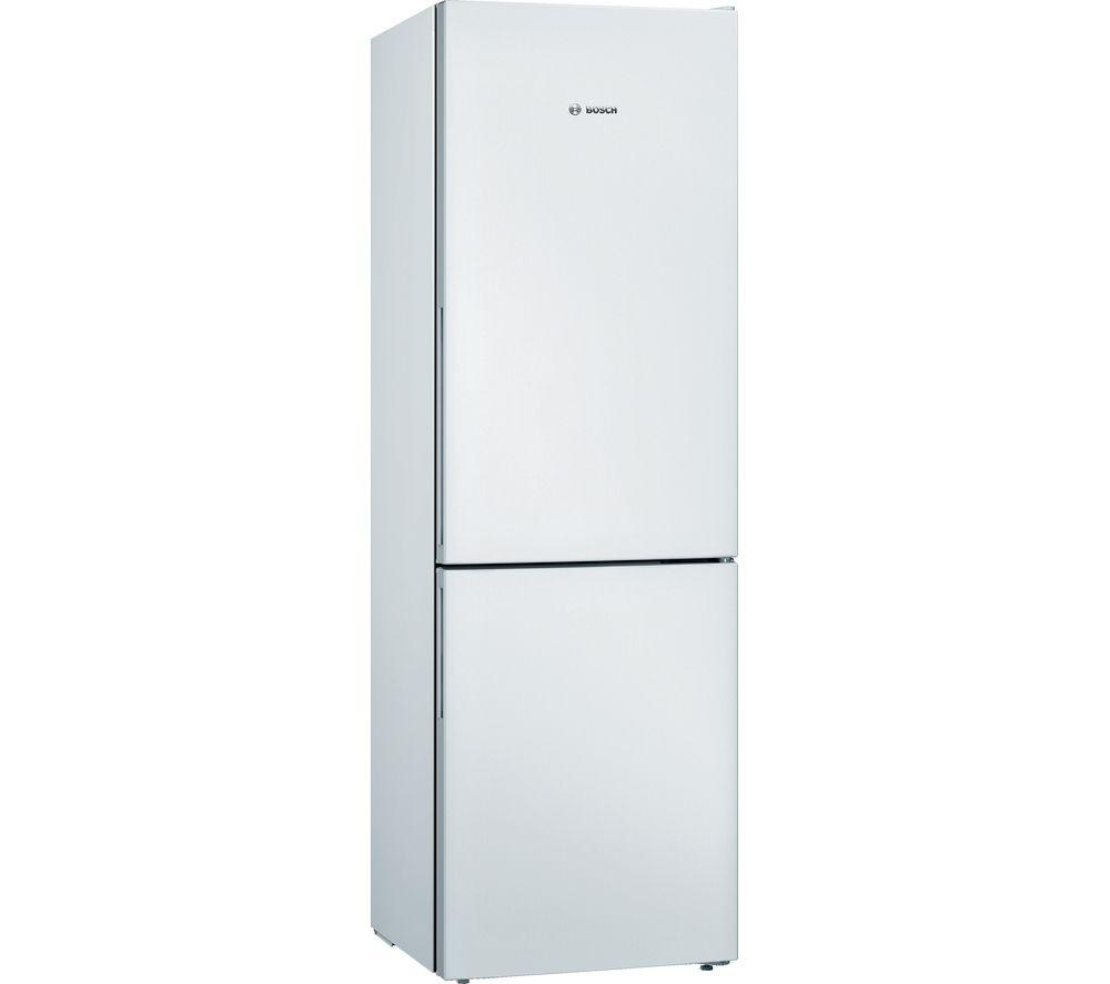 BOSCH Serie 4 KGV36VWEAG 60/40 Fridge Freezer - White, White