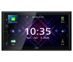 KW-M565DBT Smart Bluetooth Car Radio - Black