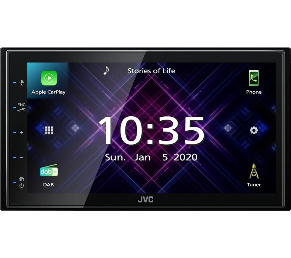 JVC KW-M565DBT Smart Bluetooth Car Radio - Black