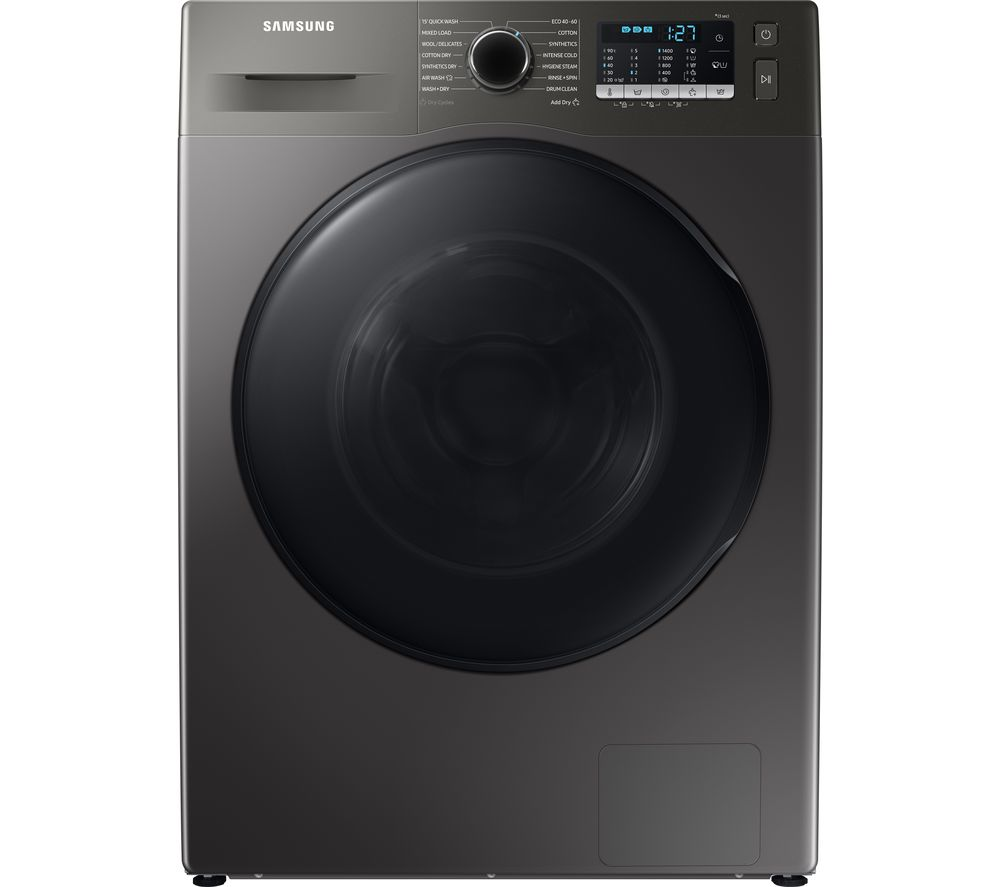 SAMSUNG ecobubble WD80TA046BX/EU 8 kg Washer Dryer - Graphite