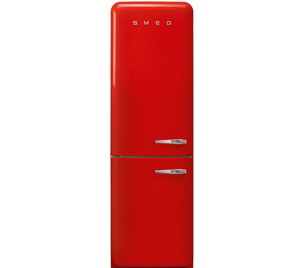 SMEG FAB32LRD5UK 70/30 Fridge Freezer - Red