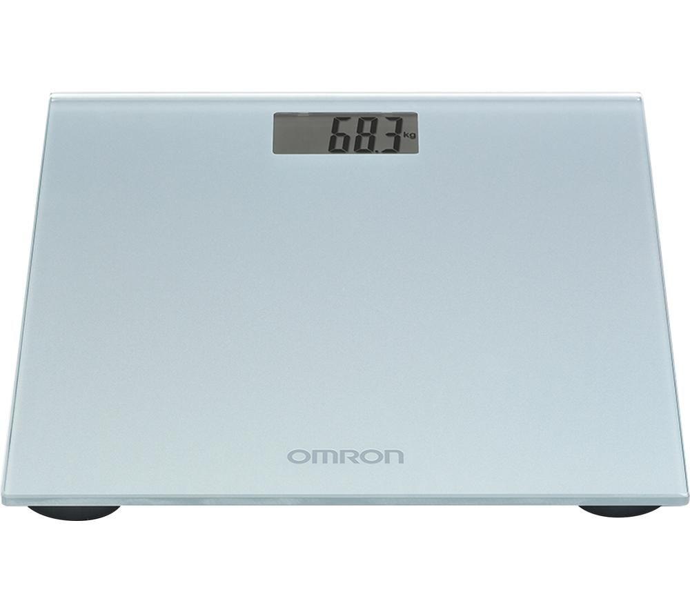 OMRON HN-289-ESL Bathroom Scale - Grey, Grey