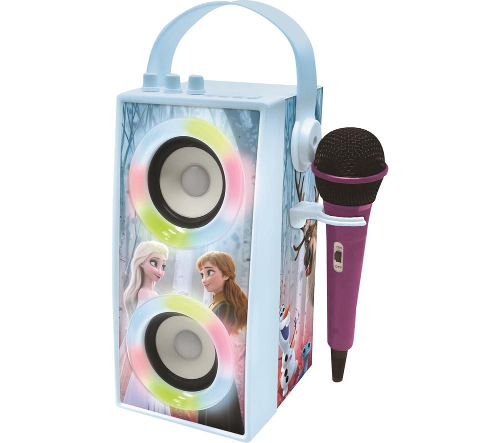 LEXIBOOK Disney Frozen II BTP180FZZ Bluetooth Karaoke System