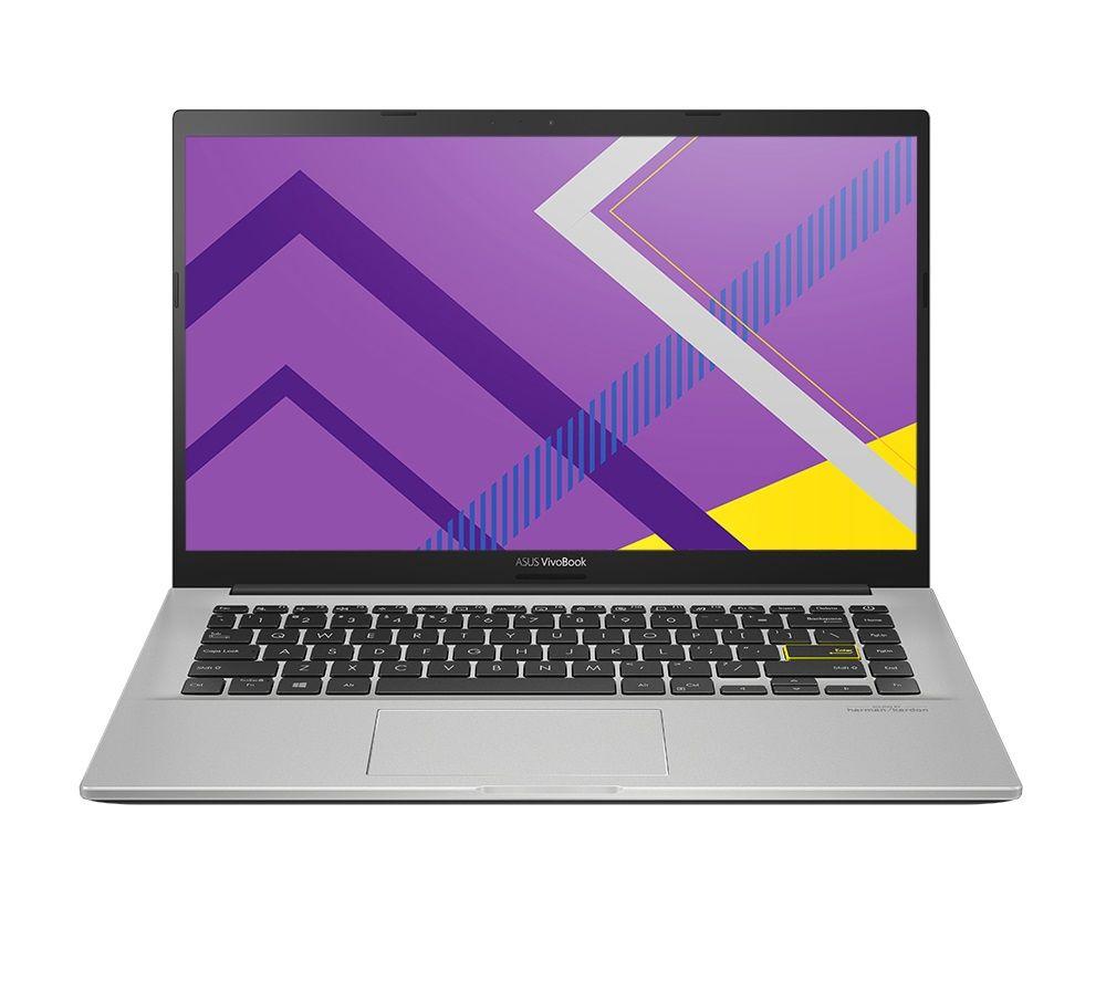 "Image of ASUS VivoBook M413IA 14"" Laptop - AMD Ryzen 5, 256 GB SSD, Silver, Silver"