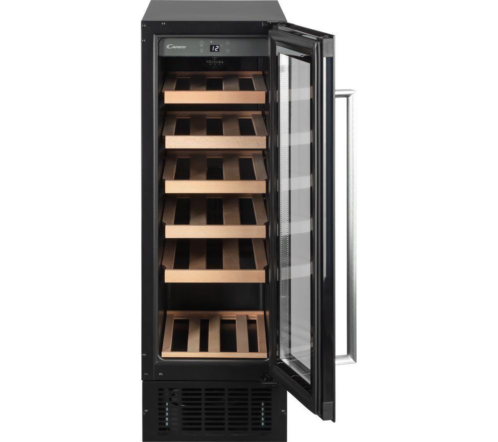CANDY CCVB 30 UK/1 Wine Cooler - Black