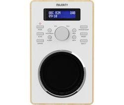 Barton 2 DAB+/FM Radio - Oak