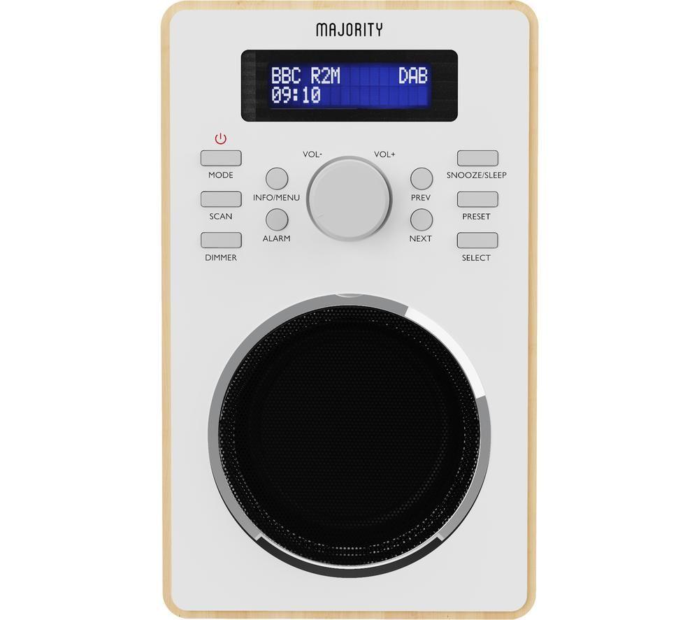 MAJORITY Barton 2 DAB+/FM Radio - Oak