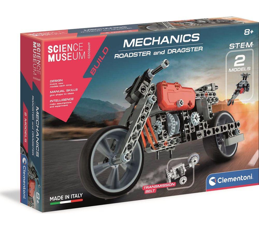 SCIENCE MUSEUM Roadster & Dragster Mechanics Kit