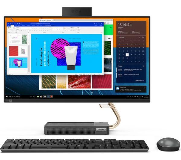 "Image of LENOVO IdeaCentre AIO 5i 23.8"" All-in-One PC - Intel® Core™ i5, 512 GB SSD, Grey"
