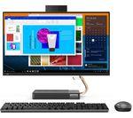 £799, LENOVO IdeaCentre AIO 5i 23.8inch All-in-One PC - Intel® Core™ i5, 512 GB SSD, Grey, Intel® Core™ i5-10400T Processor, RAM: 8GB / Storage: 512GB SSD, Full HD display,