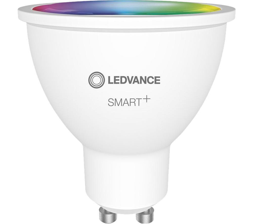 LEDVANCE SMART Spot Colour Smart Light Bulb - GU10, Pack of 3