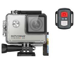 GoXtreme Vision+ 4K Ultra HD Action Camera - Silver