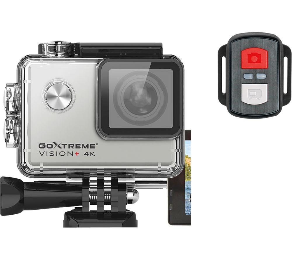 EASYPIX GoXtreme Vision+ 4K Ultra HD Action Camera - Silver