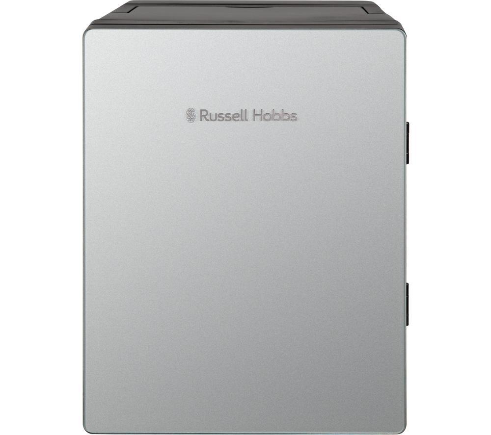 RUSSELL HOBBS RH8CLR8001S Mini Cooler - Silver, Silver
