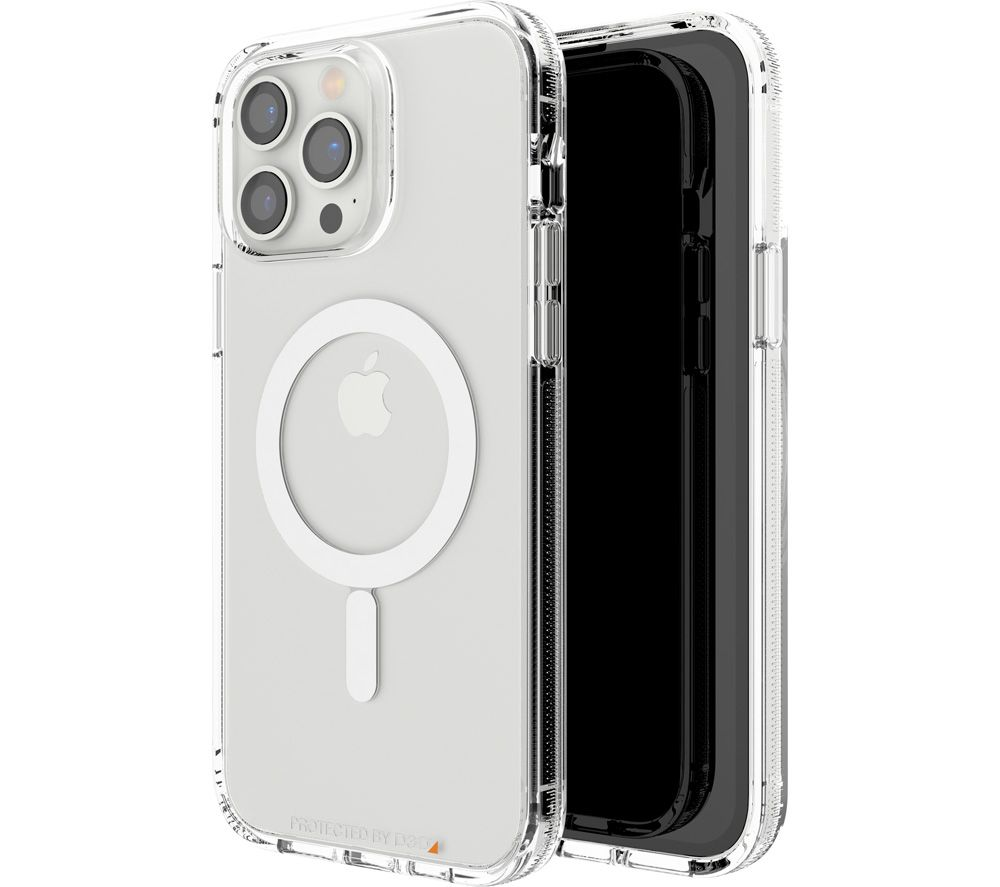 GEAR4 Crystal Palace iPhone 13 Pro Max Case with MagSafe - Clear
