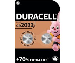 DURACELL DL2032/CR2032/ECR2032 Lithium Batteries
