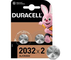 DURACELL DL2032/CR2032/ECR2032 Batteries - Pack of 2