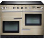 RANGEMASTER Professional+ 110 Electric Induction Range Cooker - Cream & Chrome
