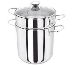 JUDGE JA80 20 cm Pasta Pot - Stainless Steel