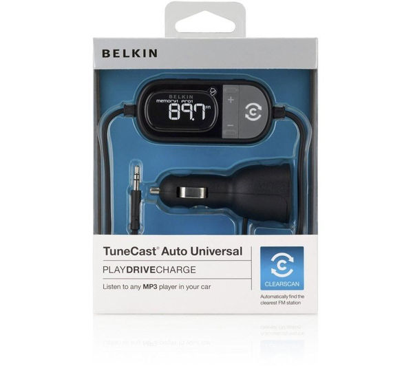 Buy BELKIN TuneCast Auto Universal FM Transmitter | Free Delivery ...