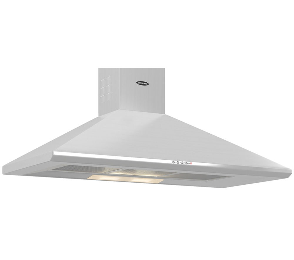 BRITANNIA Brioso K24010S Chimney Cooker Hood - Stainless Steel