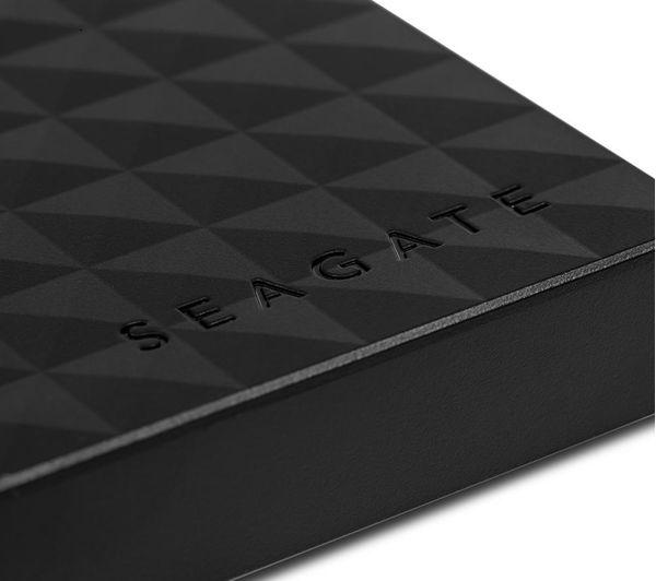 SEAGATE Expansion Portable Hard Drive - 2 TB, Black