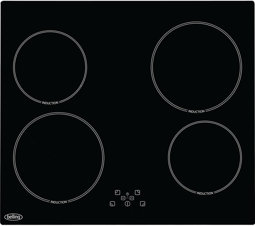 BELLING  IHT613 Electric Induction Hob - Black, Black