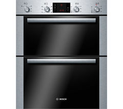 BOSCH Avantixx HBN43B250B Electric Built-under Double Oven - Brushed Steel