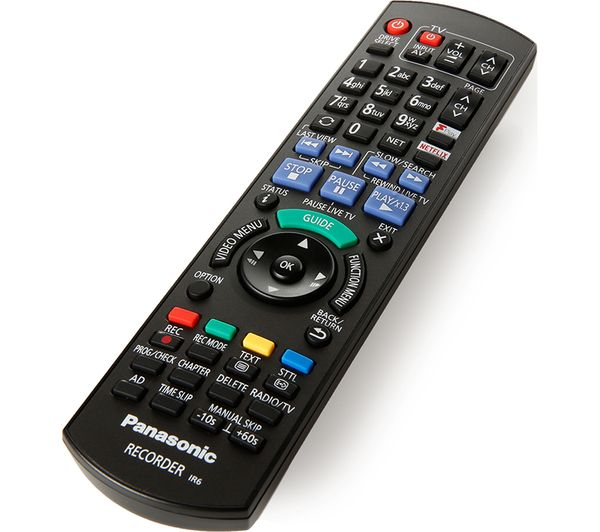PANASONIC DMR-PWT550EB Smart 3D Blu-ray & DVD Player with Freeview Play  Recorder - 500 GB HDD