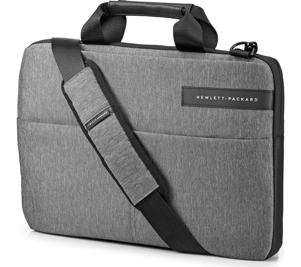 Buy hp signature slim topload 14 laptop case grey for Housse ordinateur 14 pouces originale