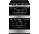 ZANUSSI ZCV664FPX 60 cm Electric Ceramic Cooker - Stainless Steel