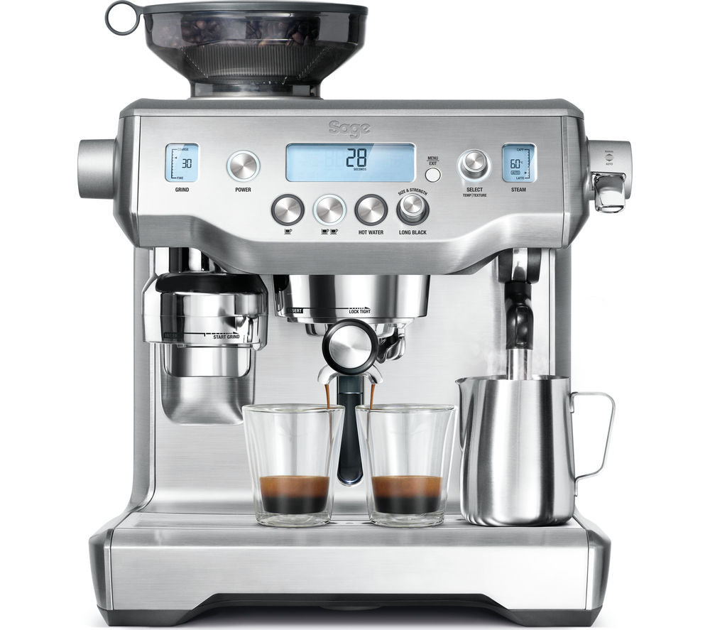 Compare prices for Sage by Heston Blumenthal Oracle Bean to Cup Coffee Machine